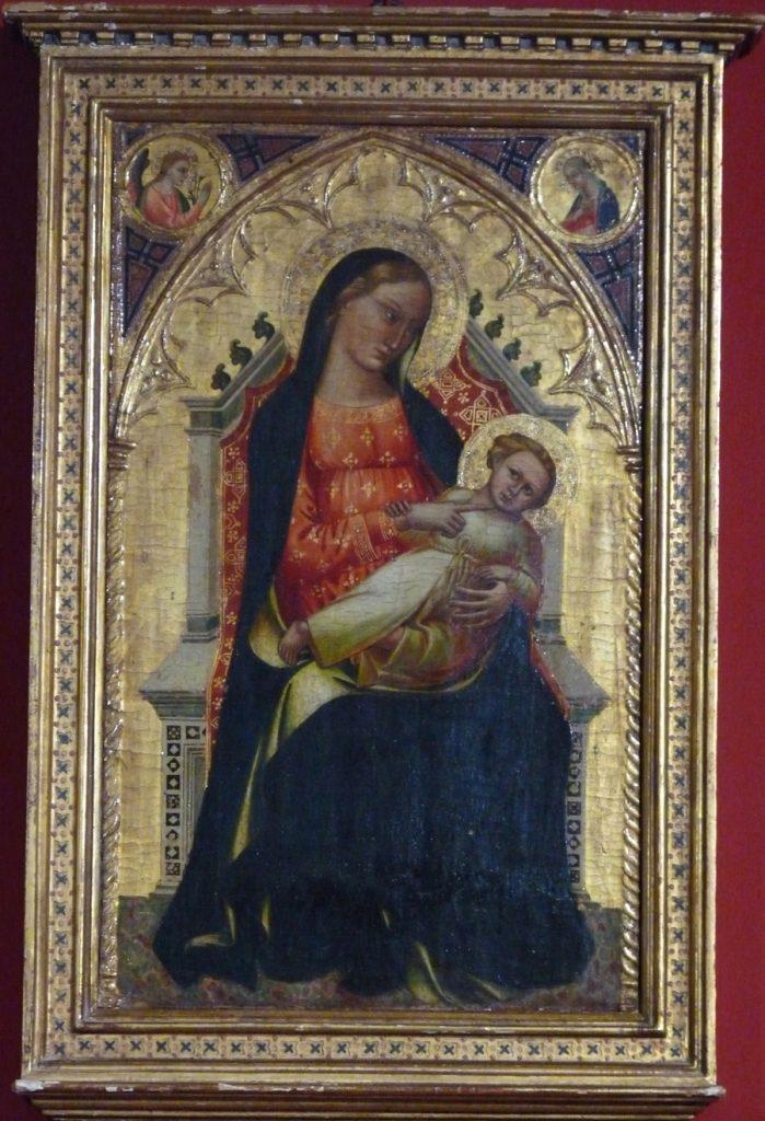 Tabla 1 I 10. Madonna con Bambino. Maestro di Panzano