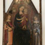 Fig. 3.- Mtro. Panzano. Virgen con Niño del Museo Comunale de Montalcino