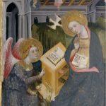 Foto 1.- Anunciación. Pinacoteca di Brera, Milán